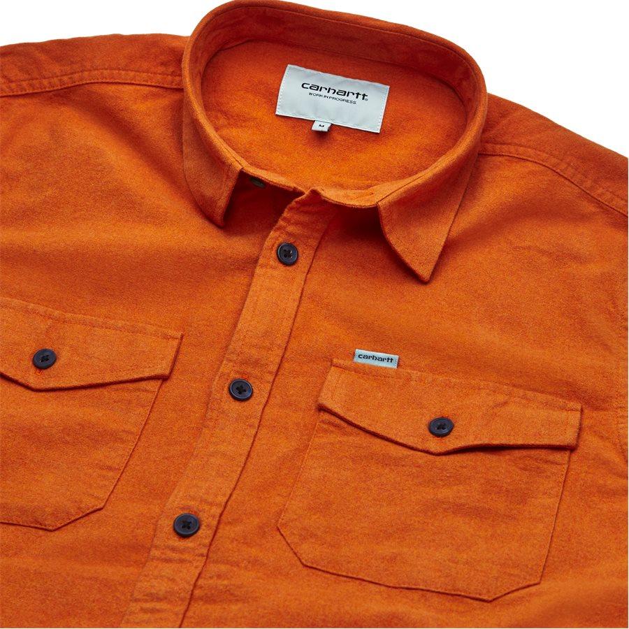 L/S VENDOR I023340 - L/S VENDOR - Skjorter - Regular fit - PERSIMMON HEATHER - 3
